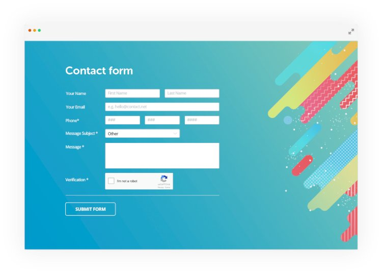 Responsive Ajax Contact Form In PHP