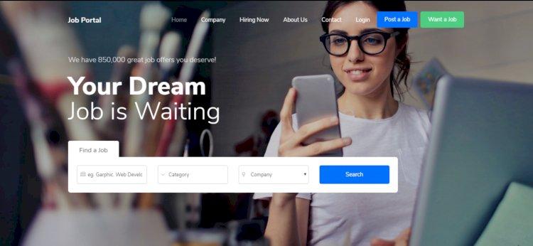 Job Portal Platform- A complete Job portal website with full Source Codes.