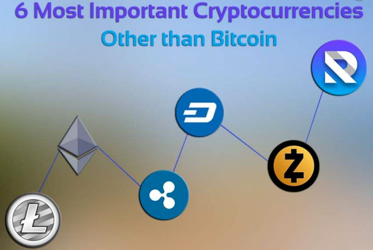Most important cryptocurrencies other than bitcoin