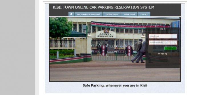 Online Car Parking Reservation System