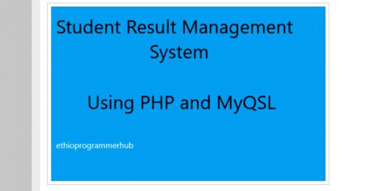 Student Result Management System