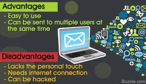email, advantages and disadvanatages